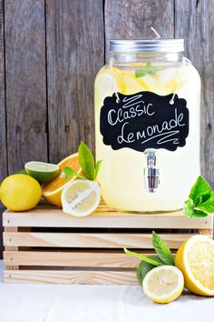 Классический лимонад » Рецепты » Кулинарный журнал Насти Понедельник. Кулинарные рецепты с фото.