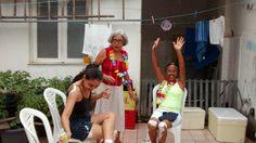 Carnaval 2016: mamãe, tia Telma e eu