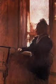 Edgar Degas- Woman at a window -1871-2