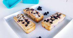 Zitronen Quark-Küchlein   Fitness Snack Rezept