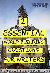 Answering these two essential world building questions before you start creating your world will ensure a more cohesive and interesting world. Creative Writing Tips, Book Writing Tips, Writing Resources, Writing Help, Writing Ideas, Writing Promps, Writing Notebook, Script Writing, Writing Worksheets