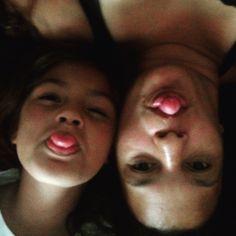 Me and my daughter #selfie