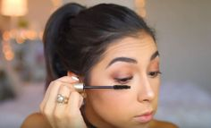 Gorgeous Makeup: Tips and Tricks With Eye Makeup and Eyeshadow – Makeup Design Ideas How To Do Makeup, Makeup Tips, Makeup Tutorials, Makeup Ideas, Simple Eyeshadow, Eyeshadow Makeup, Diy Natural Beauty Routine, Eyeshadow Techniques, Fall Makeup Tutorial
