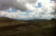 The High Country, Snowy Mountains, Australia - basically no snow at this time of year!