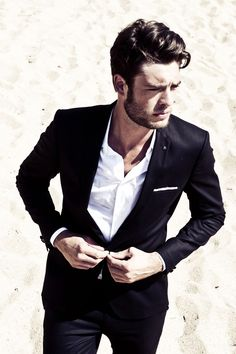 An exquisitely tailored suit