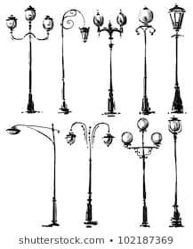 Lamp posts drawing royalty-free stock illustration elements of art, free vector art, Art Sketches, Art Drawings, Photo Lamp, Urban Sketching, Pen Art, Free Vector Art, Doodle Art, Watercolor Paintings, Clip Art
