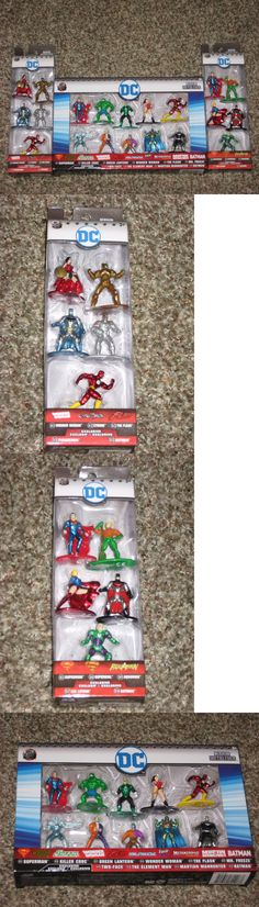 DC Universe 10 Pack Figure Collector/'s Set Nano Metalfigs W// Both 5 Pack Sets