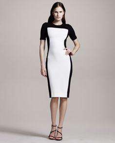 Colorblock Jersey Dress by Stella McCartney at Neiman Marcus.
