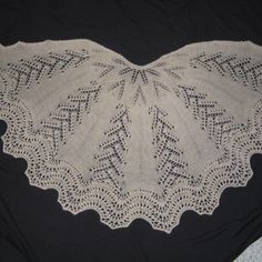 Shawls, Ponchos, Wraps - Knit and Crochet Patterns - Exquisite knit & crochet designs with fine yarns