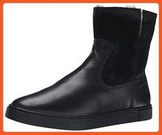 FRYE Women's Gemma Short Shearlingsvlos Winter Boot,  Black, 6.5 M US - Boots for women (*Amazon Partner-Link)