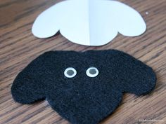 sheep head pattern use the printable outline for crafts creating