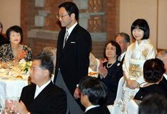 Princess Nori Sayako of Japan and Yoshiki Kuroda (15 Nov 2005)