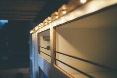 LED Lichtpunkte in der Bettleiste