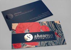 Shawna Photographer business card design    http://designrfix.com/gallery/portfolio/shawna-photographer-business-card-design#