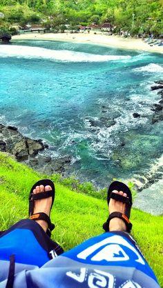 Siung beach, Yogyakarta - Indonnesia #heavenonearth #youcantresistthis