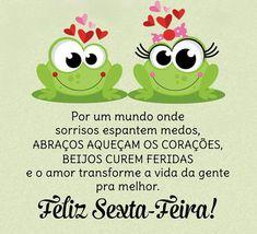 Bom dia família, sexta-feira é dia de ser muito mais feliz #bora #mensagens #álbum Portuguese Quotes, Messages, Words, Instagram Posts, Top Imagem, Facebook, Humor, Memes, Good Morning Friday