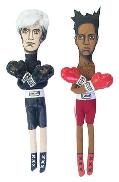 Warhol vs Basquiat (Art Dolls Premium)