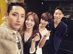 Lee Soo Hyuk, Lee Chung Ah, Hwang Jung Eum và Ryu Jun Yeol.