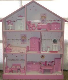 What Is Interior Design And Decor? Cardboard Dollhouse, Diy Dollhouse, Barbie Furniture, Dollhouse Furniture, Barbie Doll House, Barbie Dolls, Barbie Kitchen Set, Doll House Plans, Diy House Projects