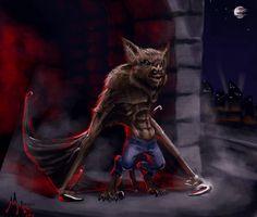 Werebat by chillier17 on DeviantArt