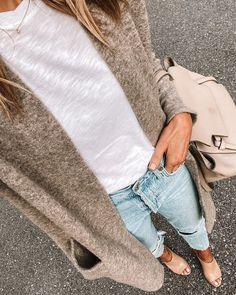 Fall Winter Outfits, Autumn Winter Fashion, Women Fall Outfits, Autumn Style, Boyfriend Jeans Kombinieren, Estilo Jeans, Fashion Jackson, Fall Fashion Trends, Fashion Ideas
