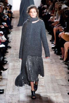 The New York Fashion Week Fall 2014 Trend Report is in! A major Fall 2014 trend: Knitwear