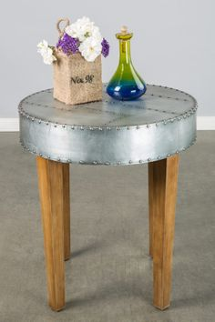 Statements by J  Channing Side Table on HauteLook was 525.00 now $199.00