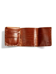 Leather Wallet by The Secret Life of Walter Mitty at Gilt Secret Life, The Secret, Beloved Film, Life Of Walter Mitty, Gifts For Friends, Friend Gifts, Things To Buy, Leather Wallet, Product Launch