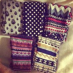 Leggings ♥ the first two on the top