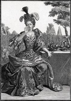 The Five Senses:  Taste - 1700 Jean Mariette (French printmaker; French 1660-1742)