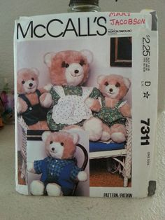 Check out this item in my Etsy shop https://www.etsy.com/listing/239869325/1980-mccall-7311-bear-family-and