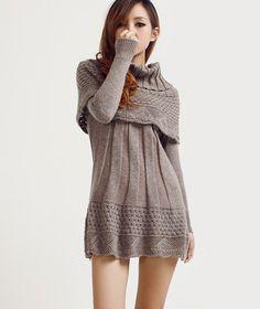 $33.00 | Fashion Long Sweater Dress AA827GH