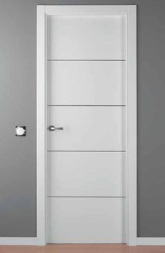 puerta lacada blanca mod. LAC-ALHO-4