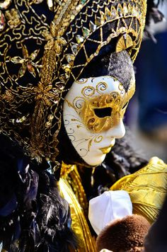 Venice Carnival Mask.