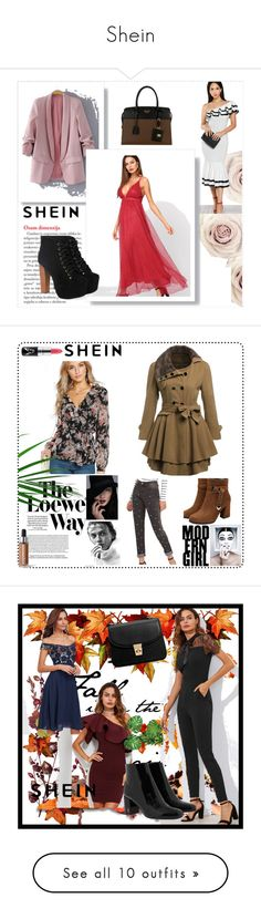 """""""Shein"""" by ajisa-ikanovic ❤ liked on Polyvore featuring Loewe, Garance Doré, Jayson Home, New Growth Designs and WALL"""