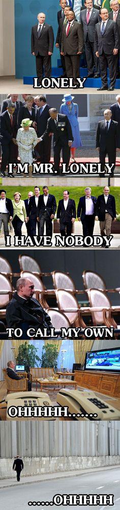 Poor Misunderstood Putin