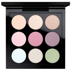Mac Pastel Times Nine Eye Shadow X 9 (€30) ❤ liked on Polyvore featuring beauty products, makeup, eye makeup, eyeshadow, beauty, fillers, eye shadow, eyes, pastel times nine and mac cosmetics eyeshadow