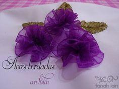 Tanah Lain: Flores Bordadas con Listón