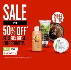 VOUCHER CODE Claim 40% Off Sale And Non Sale Items At The Body Shop Using Code 14671 - Gratisfaction UK Discounts #thebodyshop #voucher #cosmetics