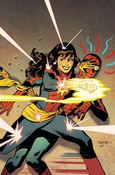 Homem-Aranha: Mary Jane transformada nos heróis do Universo Marvel!