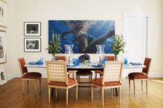 The Herrera Family Manhattan Home - Pictures of the Herrera's NYC Home - Harper's BAZAAR