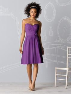 Bridemaid Dresses!!!!! Comes in so many shades of purple, worth a look! i thought it was simple and summery