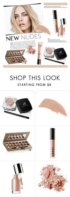 """""""Fall Beauty: Nude Color Palette"""" by helenevlacho ❤ liked on Polyvore featuring beauty, Burberry, Bare Escentuals, Laura Geller, LORAC, Clinique, Bobbi Brown Cosmetics, contestentry, NudeMakeup and beautyset"""