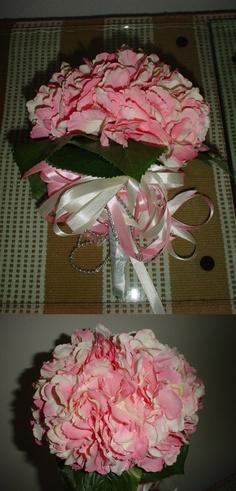 Frugal wedding - DIY wedding bouquet