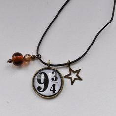 9 three quarters Harry Potter inspired Pendant Necklace Jewellery £4.50