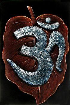 Aum - The Cosmic Truth - Paintings on Velvet (Painting on Velvet Cloth - Unframed) Lord Shiva Painting, Krishna Painting, Velvet Painting, Dot Art Painting, Hippie Festival, Bhagavad Gita, Hindu Symbol Om, Diwali Painting, Festivals