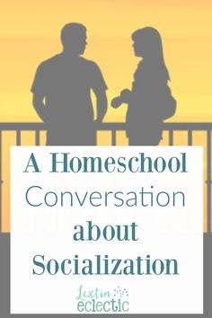 If you homeschool then you've heard the dreaded socialization question. Read how I handled this question in a conversation about homeschooling.