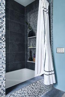 VanLannen Remodel - traditional - Bathroom - Other Metro - Danielle Sykes Small Soaker Tub, Traditional Bathroom, Clawfoot Bathtub, House Rooms, Amazing Bathrooms, Houzz, Cool Stuff, Bathroom Ideas, Greek