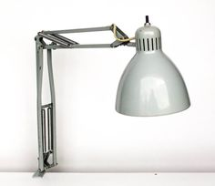Vintage Angle Poise Desk Lamp / Clamp on / by TheCuriousCaseShop