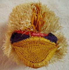 Wounaan Embera Chunga Mask Duck-Panama 16073028L